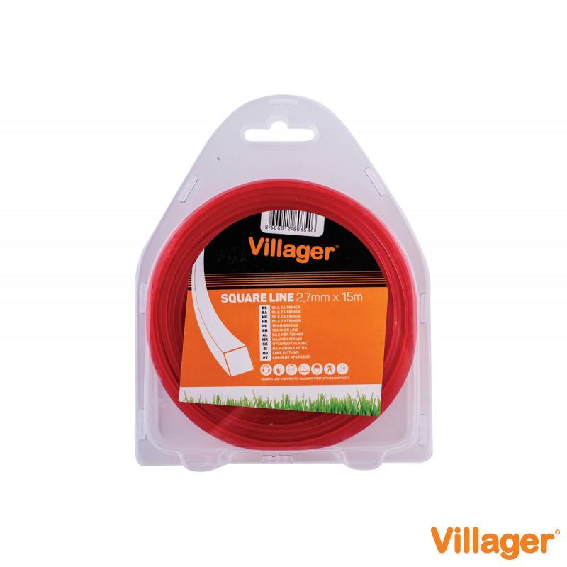 Silk za trimer 3.0mm x 52m (1lb) - četvrtasta nit Villager