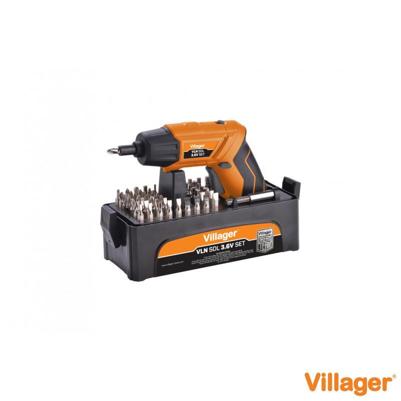 Akumulatorska bušilica / odvijač VLN SDL 3.6 set