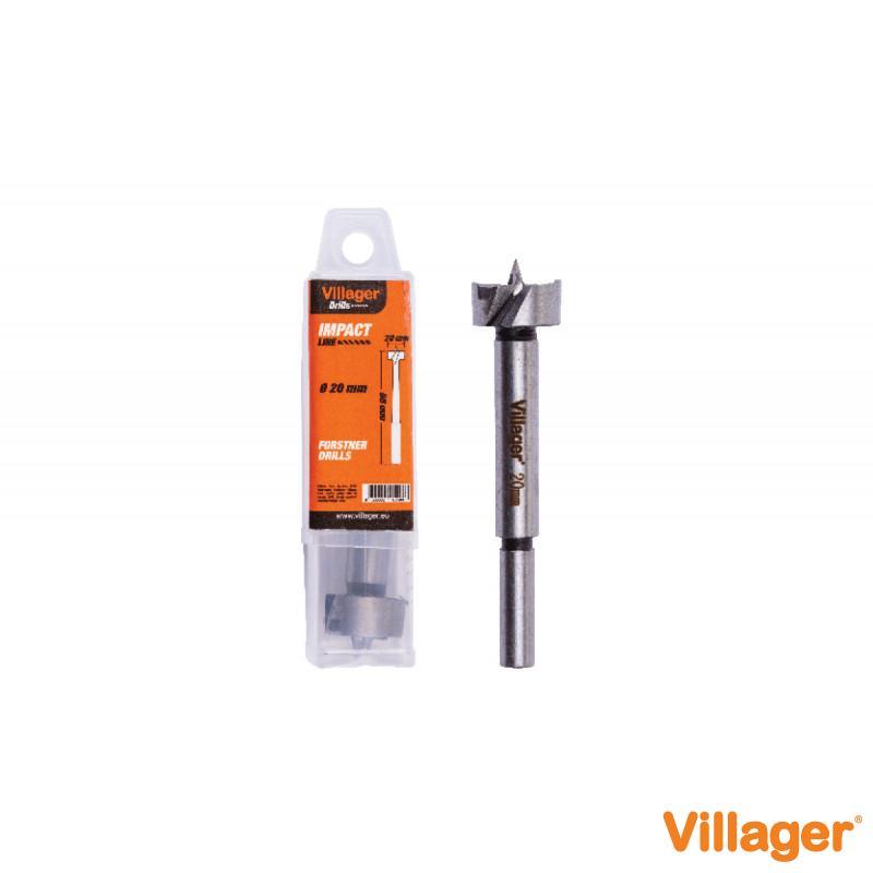 Burgija-glodalo Villager Impact Line DF-30 mm