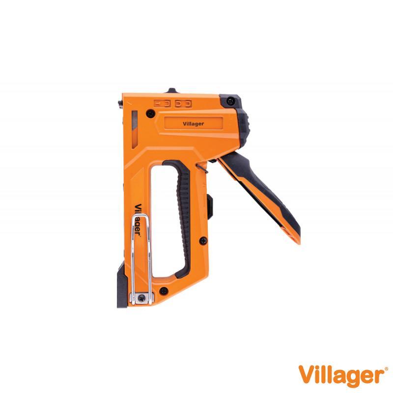 Ručna aluminijumska heftalica Villager - VSA 4IN1