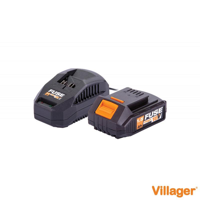Fuse set baterija 1.5Ah + punjač 2.4A